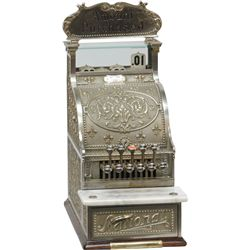 Model 215 Nickel over Brass National Cash Register