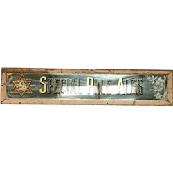 Special Pale Ales Reverse On Glass Sign