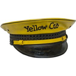 "Vintage ""Yellow Cab"" Driver's Uniform Hat"