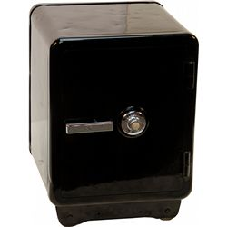 Cast-Iron Black Powder Coated Combination Safe
