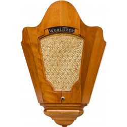 Original Wurlitzer Model 160 Auxilliary Speaker