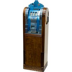 5 Cent Mills Novelty Extraordinary Club Bell Console Sl