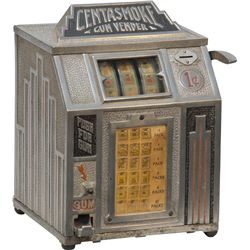 "1 Cent ""CENTASMOKE"" Cigarette 3-Reel Trade Stimulator"