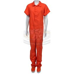 Model  Prison Jumpsuit Out In The Welltodo Los Angeles Suburb Of Bel Air On