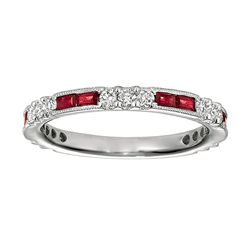 NATURAL 0.38 CTW RUBY RING 14K GOLD