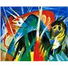 Animaux Fabuleux- Marc - Limited Edition on Canvas