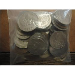 APPROX. 1 POUND OF ASSORTED MEXICAN COINAGE