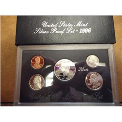 1996 US SILVER PROOF SET (WITH BOX)