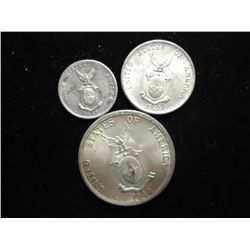 US/PHILIPPINES SILVER COINAGE 44-D 10&20 CENTAVOS