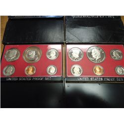 1977 & 79 US PROOF SETS (WITH BOXES)