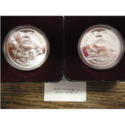 2-1979 CANADA GRIFFON $'S .75 OZ. ASW PROOF