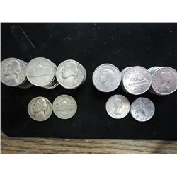 US AND CANADA NICKEL COLLECTION SEE DESCRIPTION
