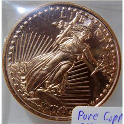 1oz Walking Liberty Copper Coins.999 Bullion Round
