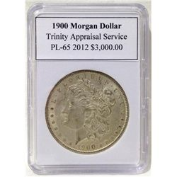 1900 Morgan Silver Dollar TAS PL-65