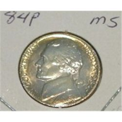 1984-P JEFFERSON NICKEL *RARE MS HIGH GRADE - NICE COIN*!!