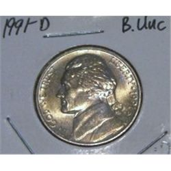 1992-P JEFFERSON NICKEL *RARE MS HIGH GRADE - NICE COIN*!!