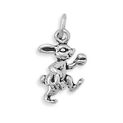 Bunny with Basket Charm