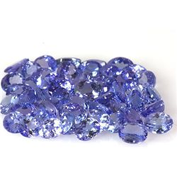 Natural Tanzanite Zoisite Oval Cut 111pcs 51.57 ctw