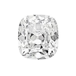 CERT. 1.01 CTW CUSHION MODIFIED BRILLIANT DIAMOND H/SI