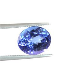 Genuine Natural 3.55ctw Tanzanite Oval Cut AAA 8.5x11mm