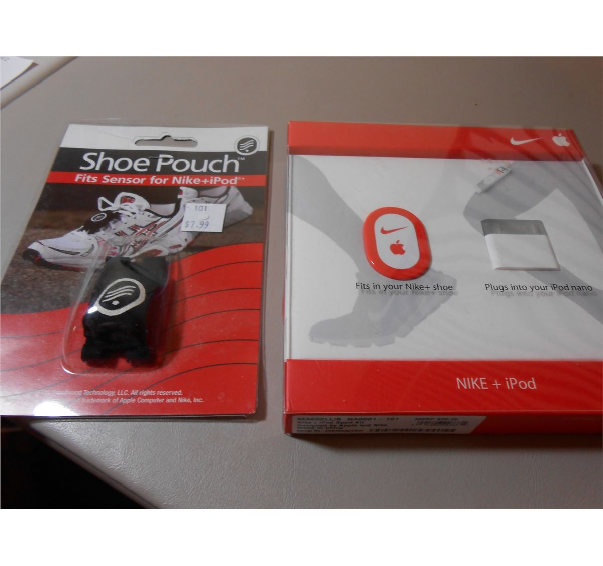 Nike + Ipod Sport Kit with Shoe Pouch for Sensor-Brand New and Never Opened!