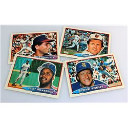 Cartoon Baseball Cards - 3 pcs.