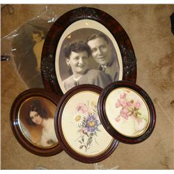 Victorian Oval Frames