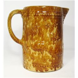 Rockinghamware Ceramic Pitcher