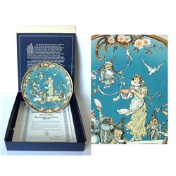 Mettlach Snow White Commemorative Plate