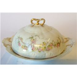 Limoges Covered Serving Bowl