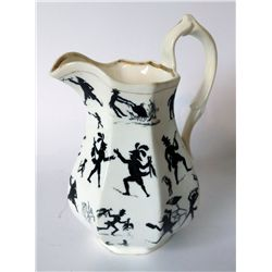 Unusual Ceramic Pitcher