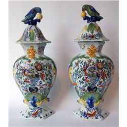 18th Or 19th Century Delft Jars