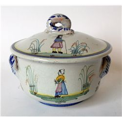 Quimper Covered Casserole