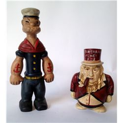 Two Character Toy Savings Banks