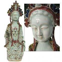 Antique Chinese Porcelain Guan Yin
