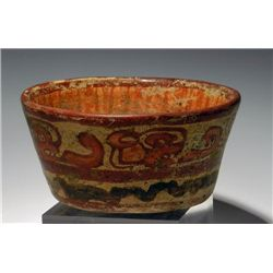 Another Mayan Polychrome Copador Bowl