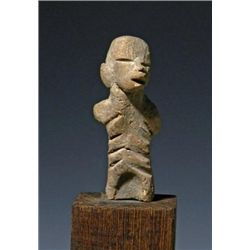 An Unusual Standing Stylized Tlatilco Figure