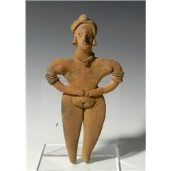 A Colima Flat Female Figure