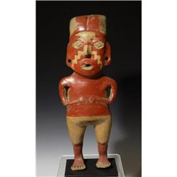 A  Pre-Columbian Bi-Chrome Chupicuaro Female Figure