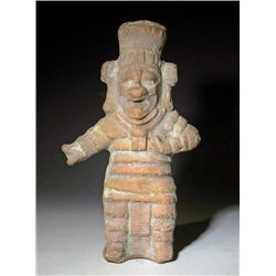 A Mexican Jaina Terracotta Figural Whistle