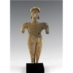 A Colima Female Figure, Pre-Columbian West Mexico