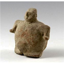A Colima Rattle Figure, Pre-Columbian West Mexico