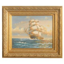 """TALL SHIP"" - ORIGINAL OIL ON CANVAS"