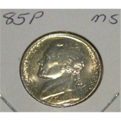 1985-P JEFFERSON NICKEL *RARE MS HIGH GRADE - NICE COIN*!!
