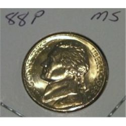 1988-P JEFFERSON NICKEL *RARE MS HIGH GRADE - NICE COIN*!!