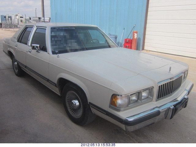 1991  MERCURY GRAND MARQUIS  Rod Robertson Enterprises Inc