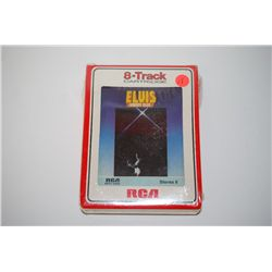 "1977 RCA Records ""Elvis Moody Blue"" 8-Track Cartridge; Unopened; EST. $5-10"