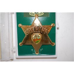 Fred Harvey Trading Co. Collectible Sheriff Badge; Grand Canyon Nat'l Park AZ.; EST. $5-10