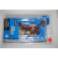 2005 McFarlane Toys NBA LeBron James Cleveland Cavaliers 2nd Edition Figurine; EST. $10-20