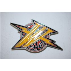 Warriors Basketball Belt Buckle; EST. $5-10